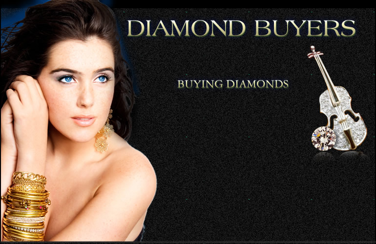 Gold Buyer Buying Diamond Jewelry